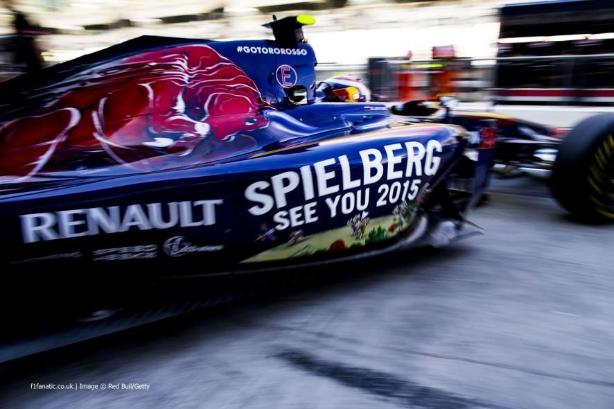 Daniil Kvyat, Toro Rosso, Yas Marina, 2014