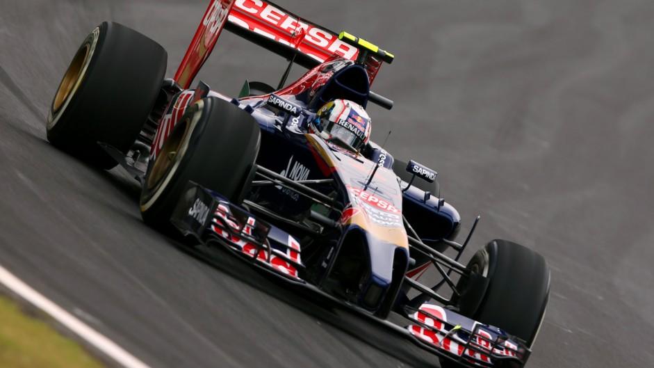 Daniil Kvyat, Toro Rosso, Interlagos, 2014