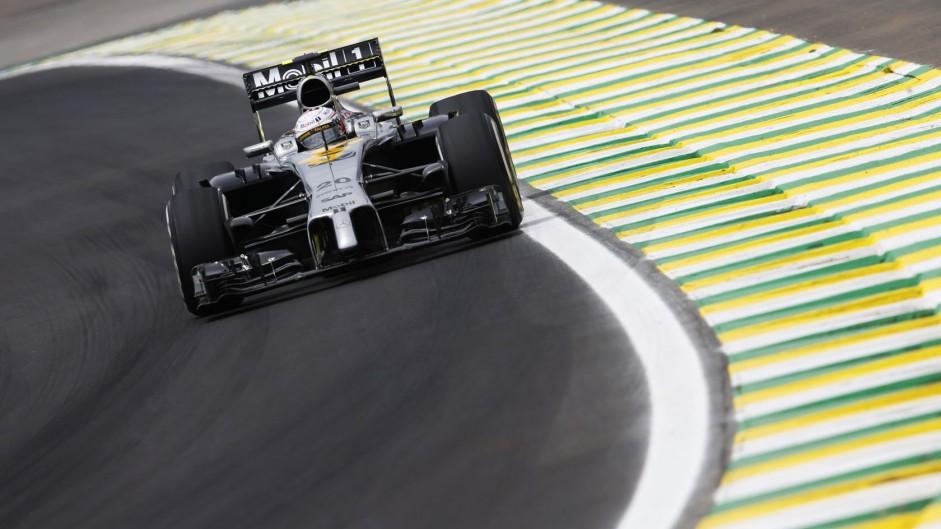 Kevin Magnussen, McLaren, Interlagos, 2014