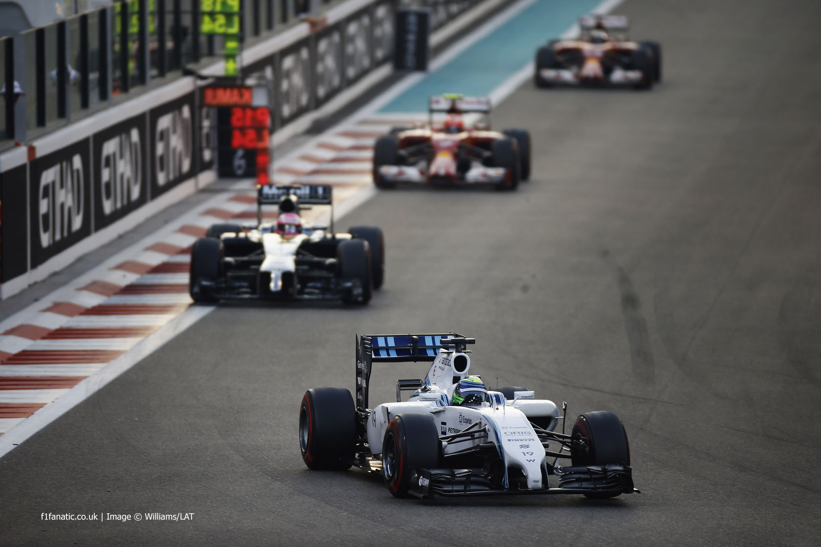 Felipe Massa, Williams, Yas Marina, 2014