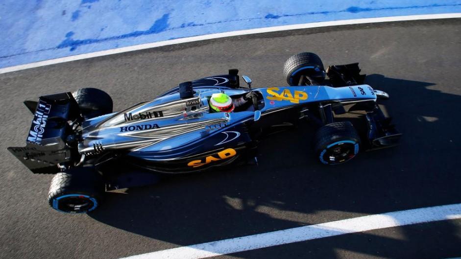 First McLaren-Honda since 1992 debuts at Silverstone
