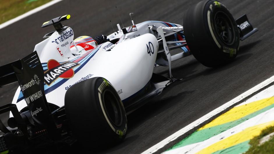 Felipe Nasr, Williams, Interlagos, 2014