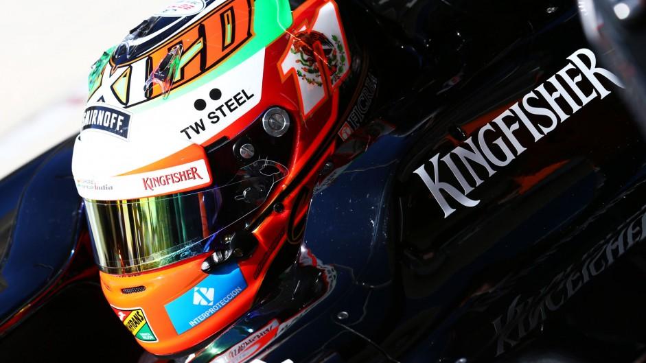 Sergio Perez, Force India, Circuit of the Americas, 2014