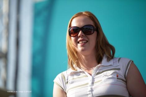 Alice Powell, GP3, Yas Marina, 2013
