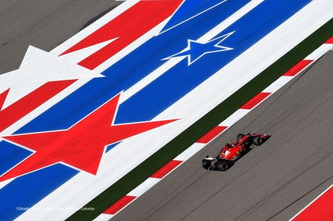 Kimi Raikkonen, Ferrari, Circuit of the Americas, 2014