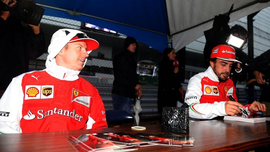 Caption Competition 64: Raikkonen and Alonso