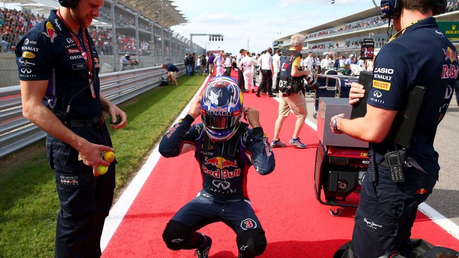 Daniel Ricciardo, Red Bull, Circuit of the Americas, 2014