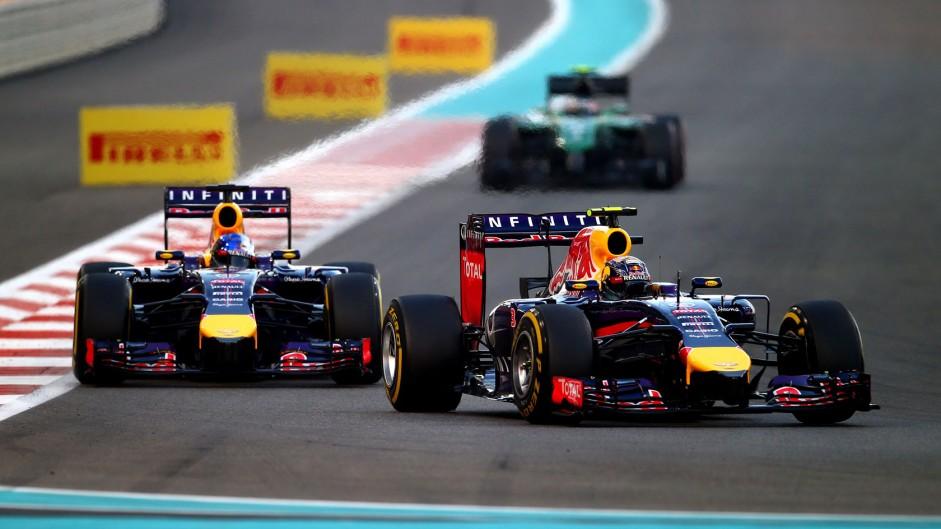 Daniel Ricciardo, Red Bull, Yas Marina, 2014