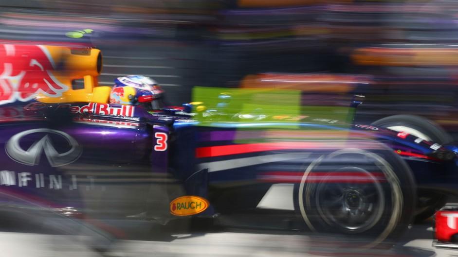 Daniel Ricciardo, Red Bull, Interlagos, 2014