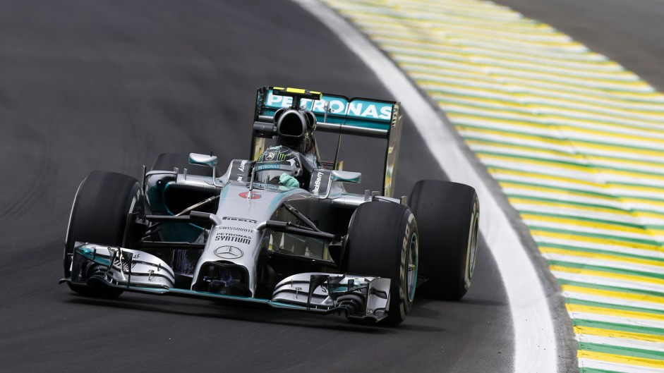 Rosberg fastest as red flags disrupt practice