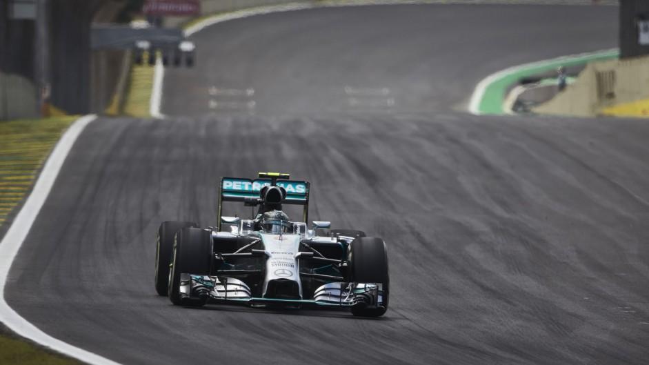 Nico Rosberg, Mercedes, Interlagos, 2014