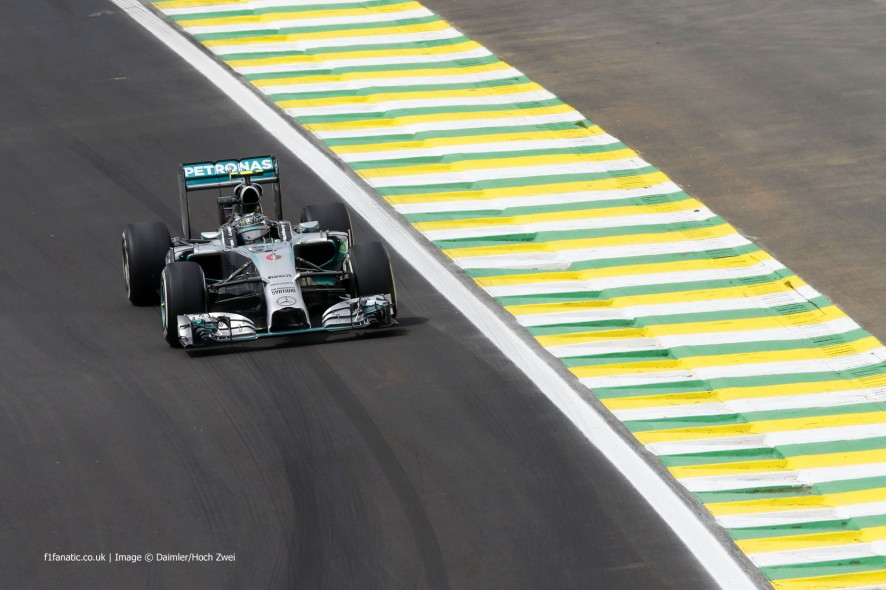 Nico Rosberg, Mercedes, Interlagos, 2014
