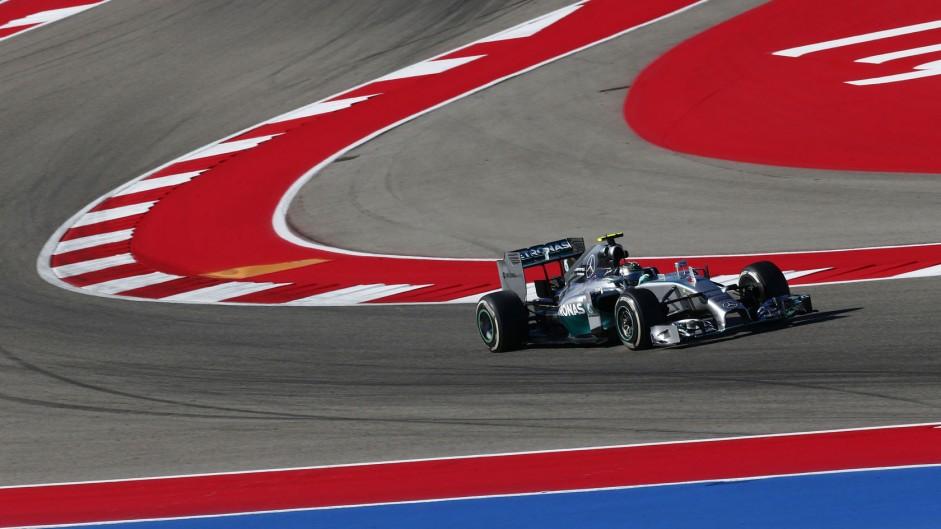 2014 United States Grand Prix grid