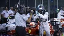 Nico Rosberg, Mercedes, Yas Marina, 2014