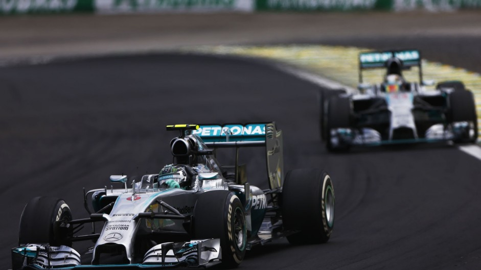 Rosberg says he didn't need Hamilton's spin to win