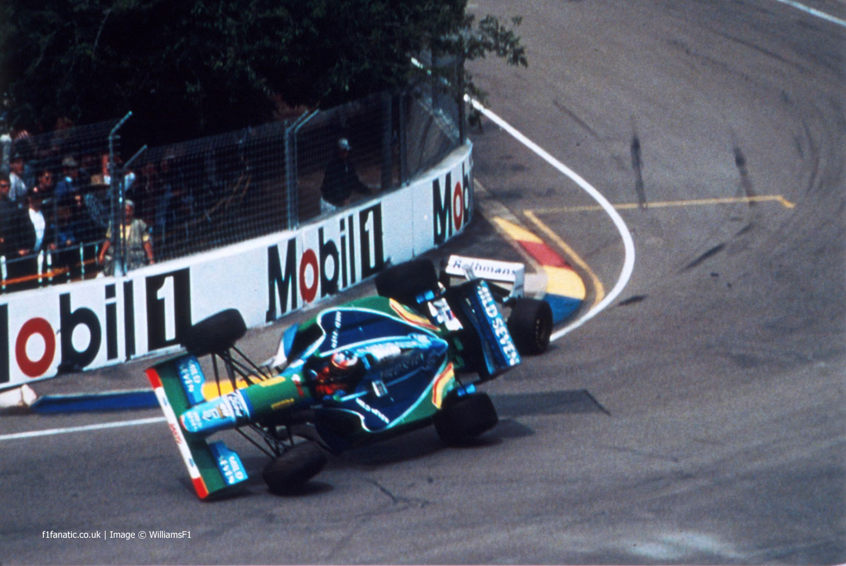 Michael Schumacher, Damon Hill, Adelaide, 1994