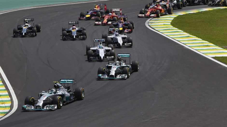 2014 Brazilian Grand Prix fans' video gallery