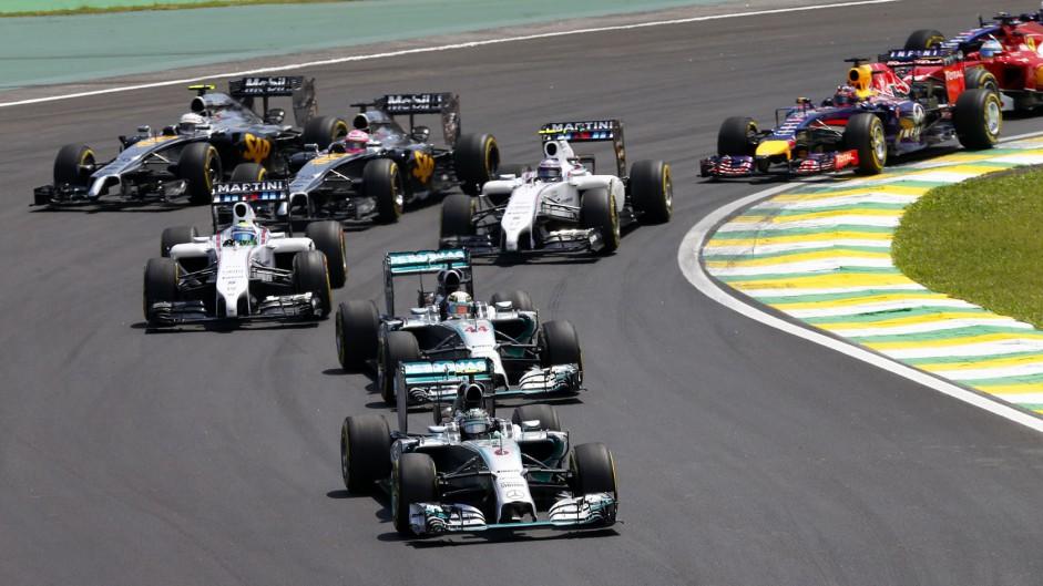 2015 Brazilian Grand Prix TV Times
