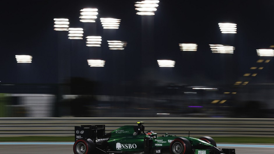 Caterham to test in Abu Dhabi with Stevens
