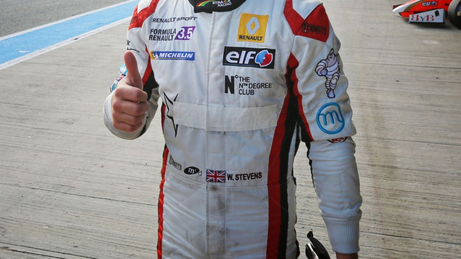 Will Stevens, Formula Renault 3.5, Jerez, 2014