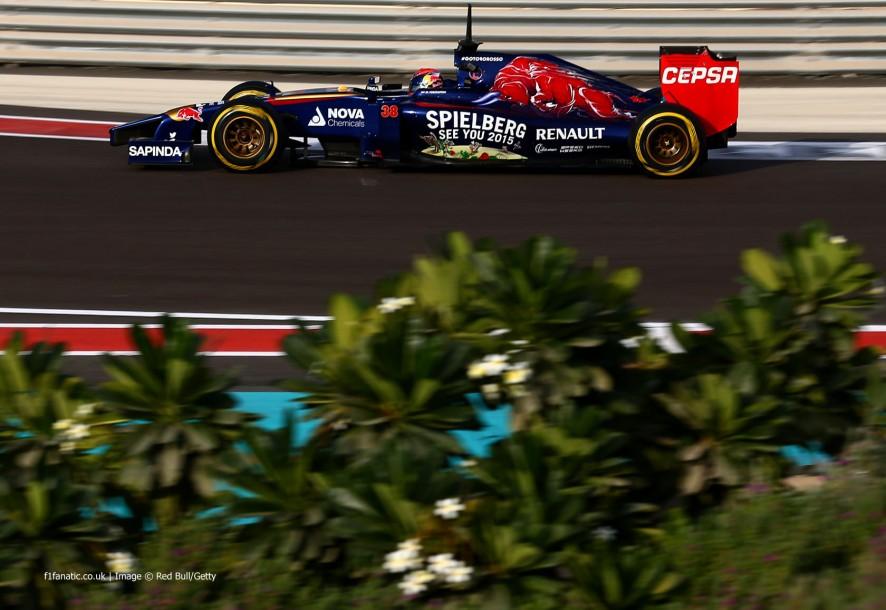Max Verstappen, Toro Rosso, Yas Marina, 2014