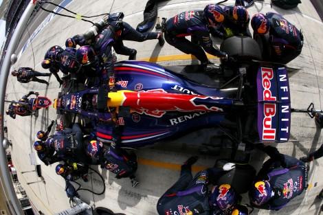 Sebastian Vettel, Red Bull, Circuit of the Americas, 2014