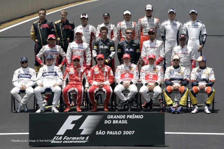 车手,Interlagos,2007年