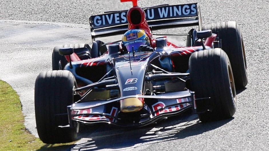 Sebastian Vettel, Toro Rosso, Jerez, 2008
