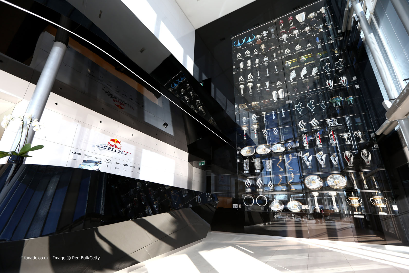 Red Bull trophies