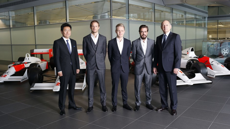 McLaren confirm Alonso and Button as 2015 drivers