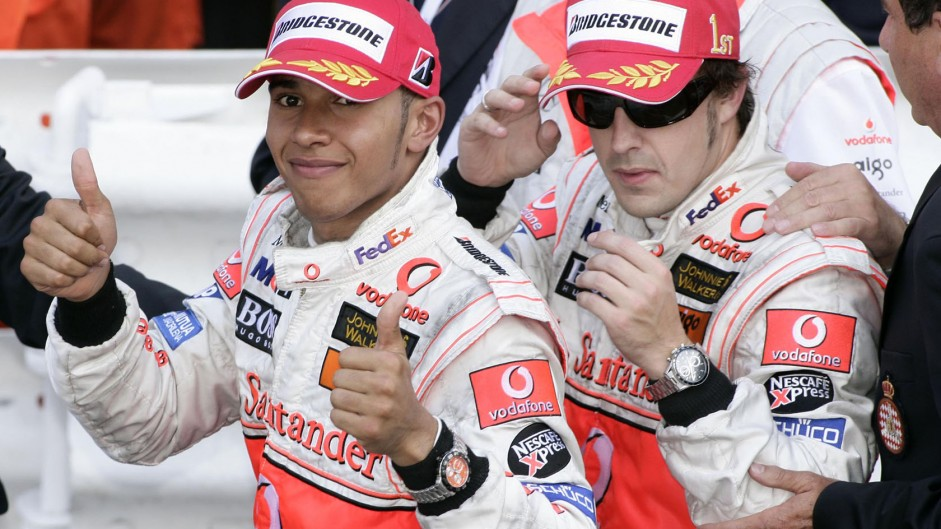 Dennis: 'Alonso underestimated Hamilton'