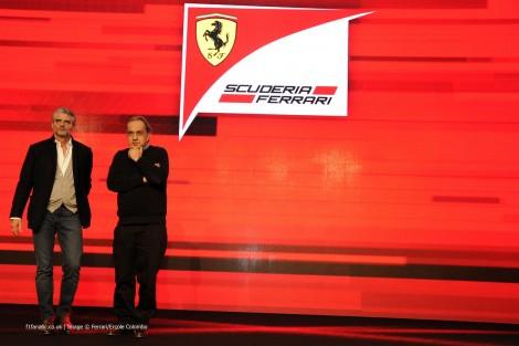 Maurizio Arrivabene, Sergio Marchionne, Ferrari, 2014