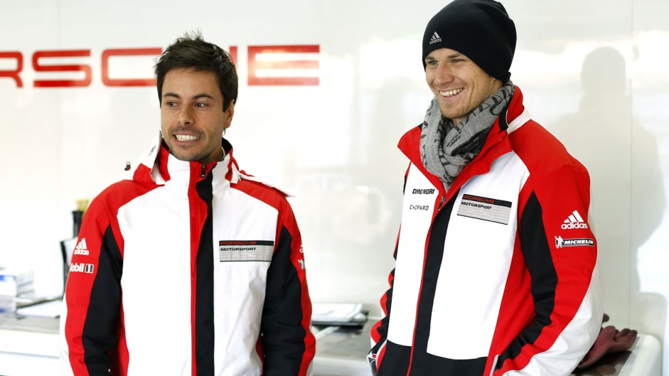 Frederic Makowiecki, Nico Hulkenberg, Porsche, 2014
