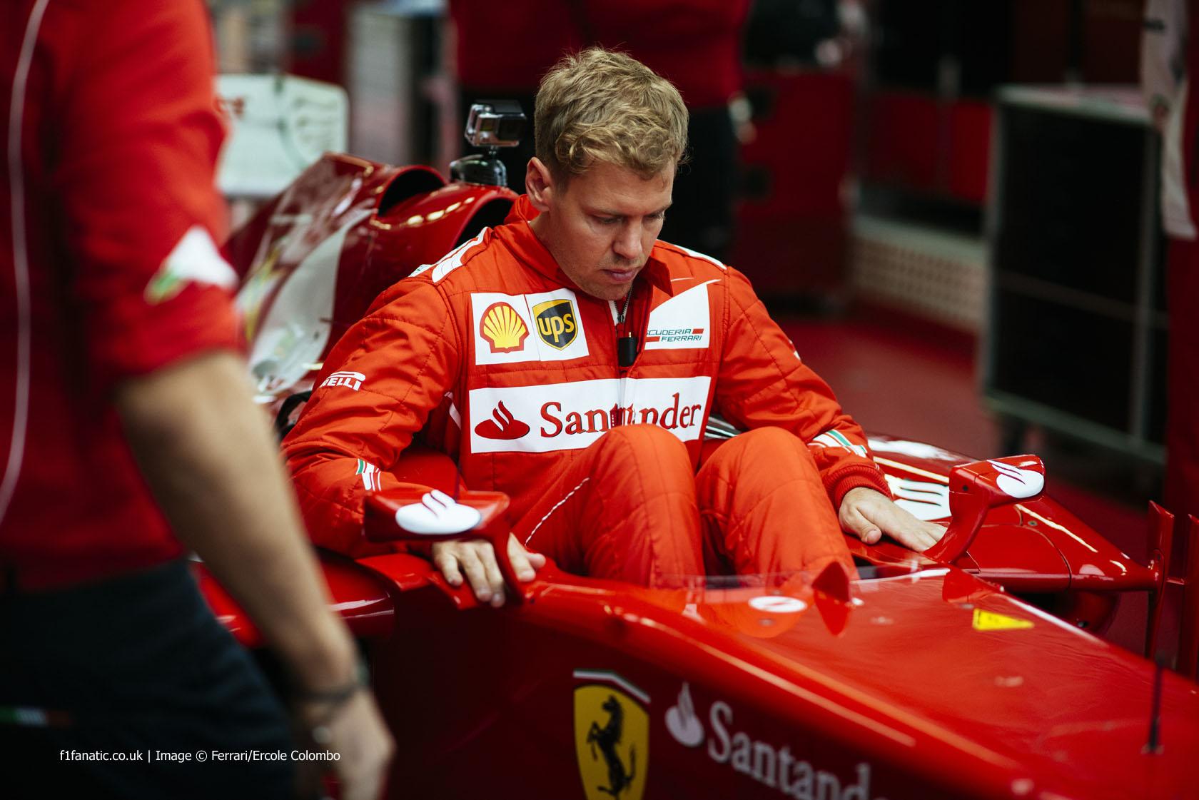 Pictures Vettel Has First Run For Ferrari At Fiorano F1 Fanatic