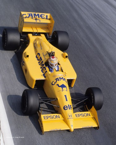 Nelson Piquet, Lotus, Monza, 1988