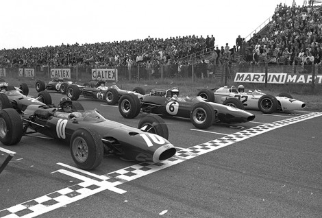 Start, Zandvoort, 1965