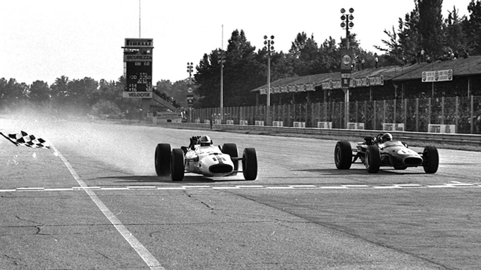 John Surtees, Jack Brabham, Monza, 1967
