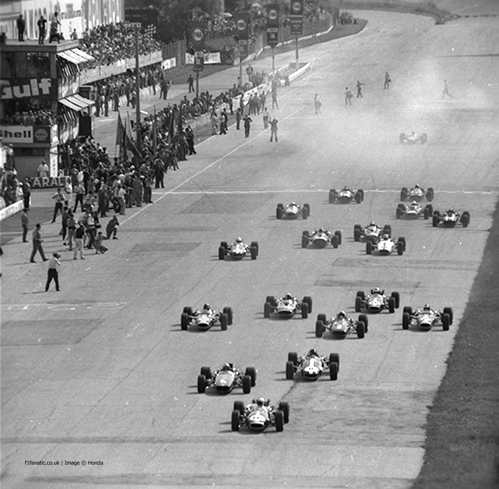 Start, Monza, 1967