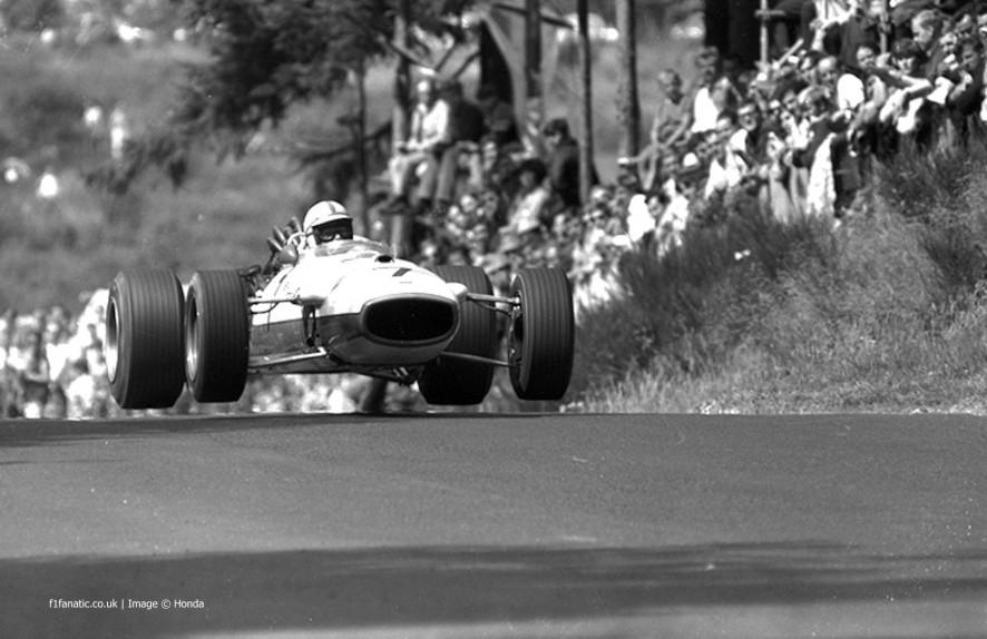 John Surtees, Honda RA273, Nurburgring, 1967