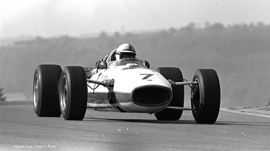 John Surtees, Honda RA273, Spa-Francorchamps, 1967