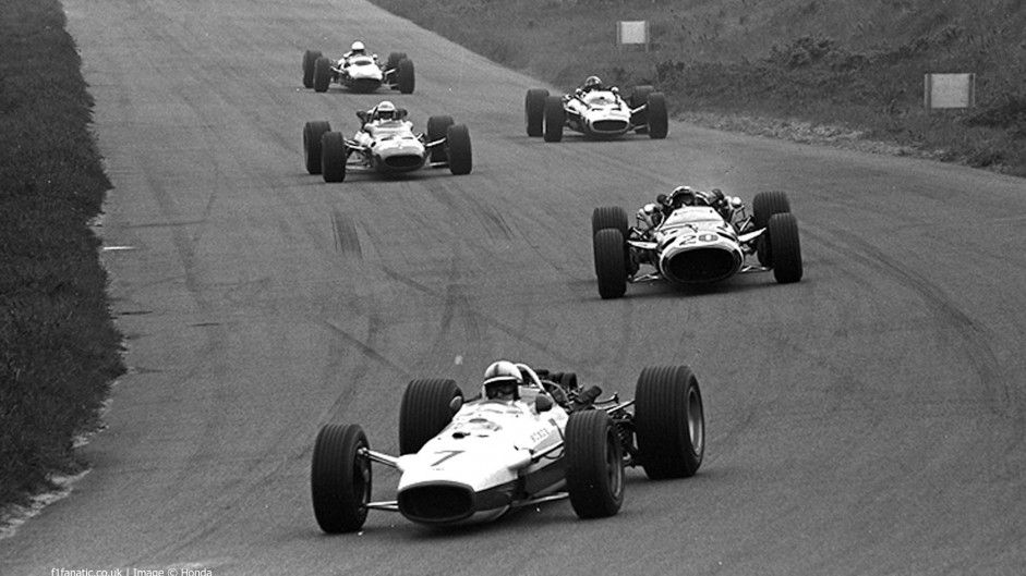 John Surtees, Honda RA273, Zandvoort, 1967