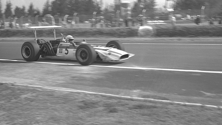 John Surtees, Honda RA301, Mexico City, 1968