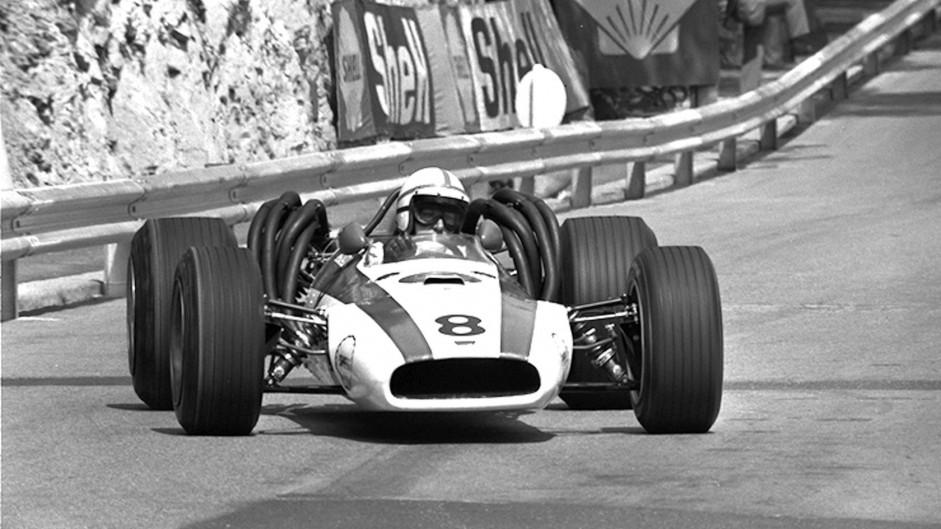 John Surtees, Honda RA301, Monaco, 1968
