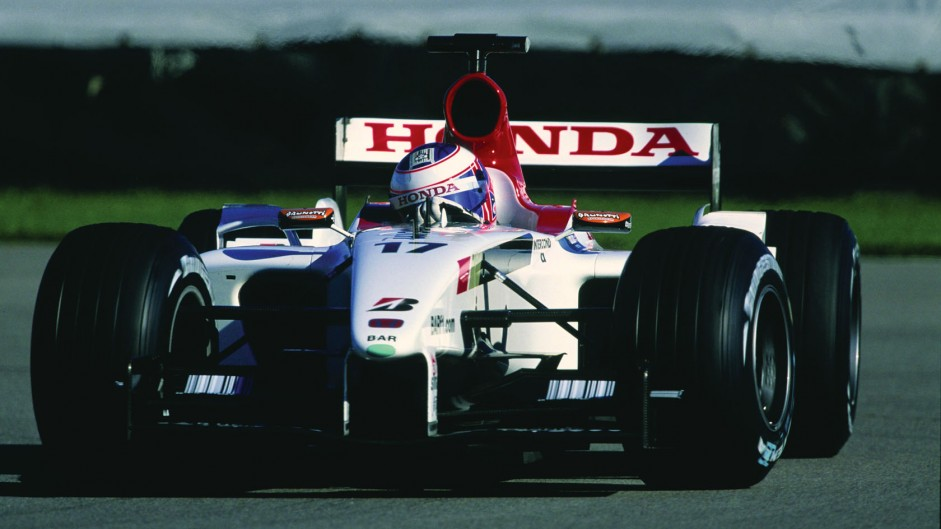 Jenson Button, BAR, 2003