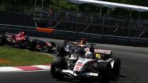 Jenson Button, Honda, Circuit Gilles Villeneuve, 2006