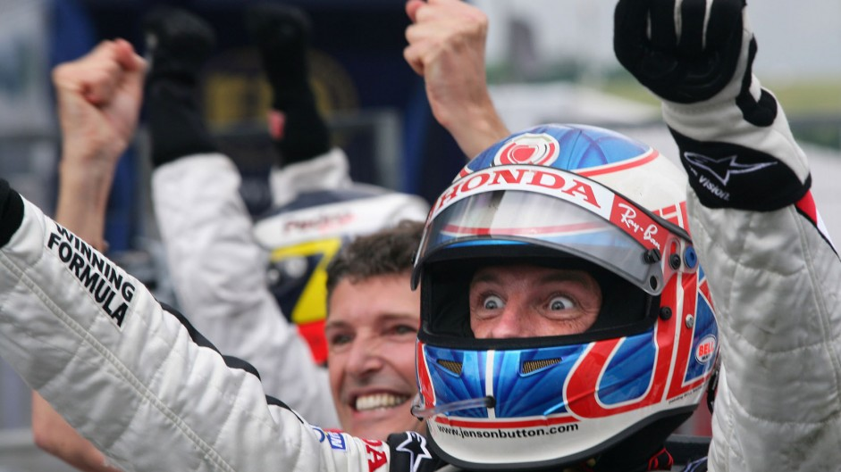 Button achieves his impossible dream