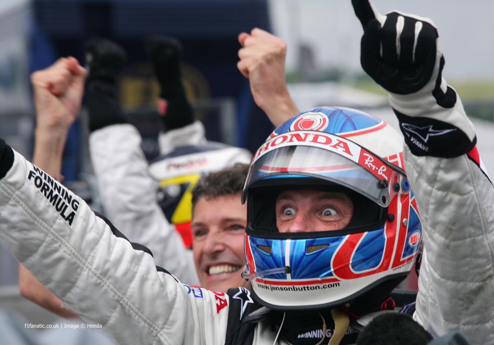 Jenson Button, Honda, Hungaroring, 2006