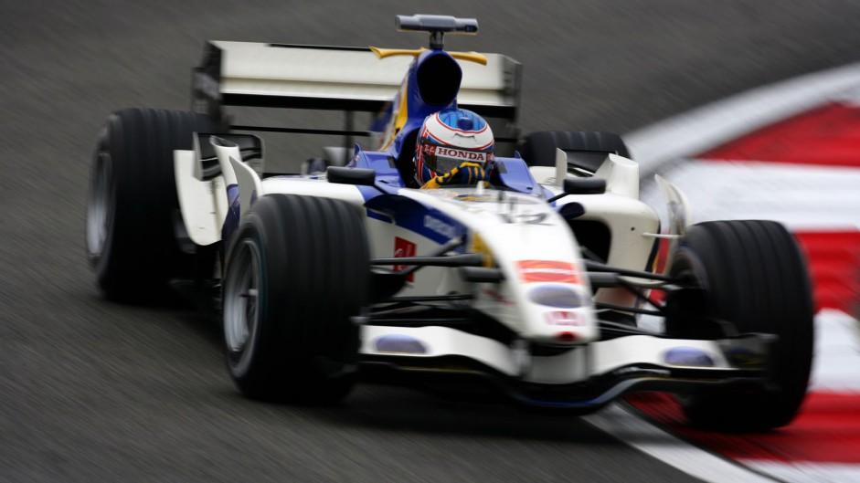 Jenson Button, Honda, Shanghai International Circuit, 2006