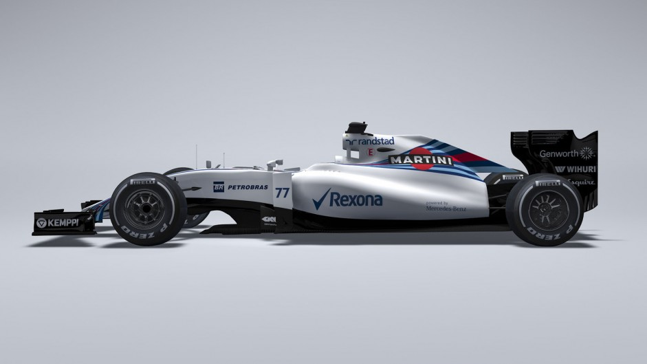 Williams FW37 is first 2015 F1 car to be pictured