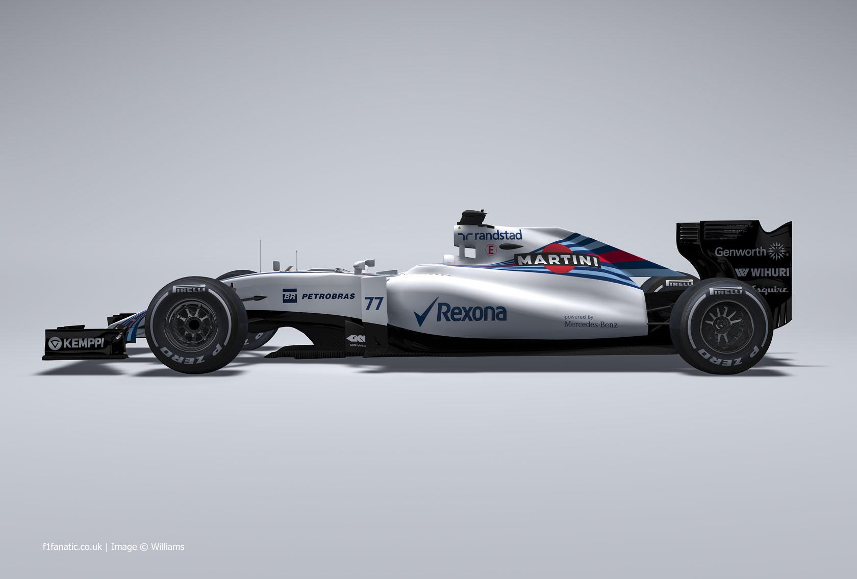 Williams FW37 image, 2015